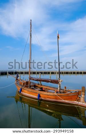 Harbor of Dierhagen/Germany - stock photo