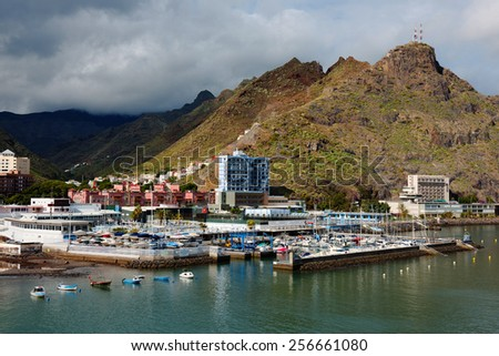 Harbor of Santa Cruz de Tenerife, Canary Islands, Spain