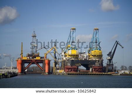 Harbour 4 - stock photo