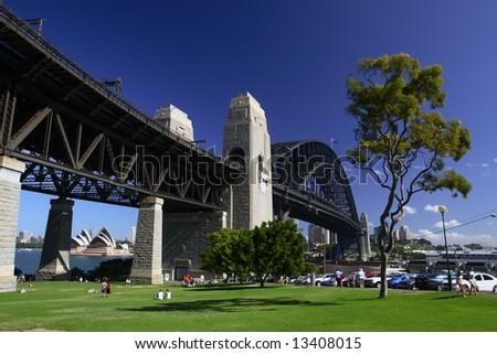Harbour Bridge, Sydney Australia. - stock photo