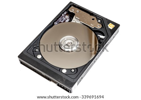 Hard Disk Drive and blur reflection magnetic drive