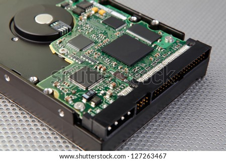 Hard disk drive and electronic circuit board with interesting technology background