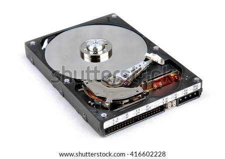 Hard disk internal mechanism hardware