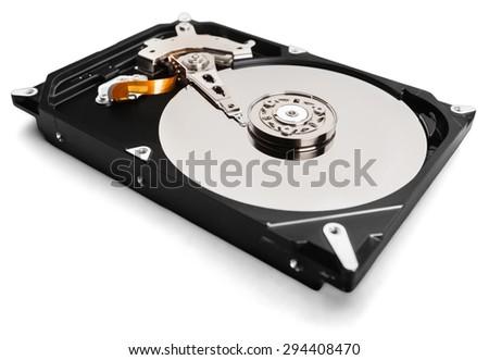 Hard Drive, backup, Computer. - stock photo