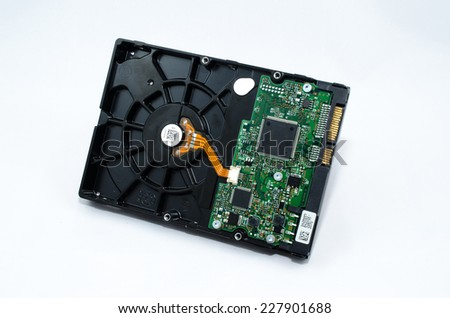 hard drive electronic part