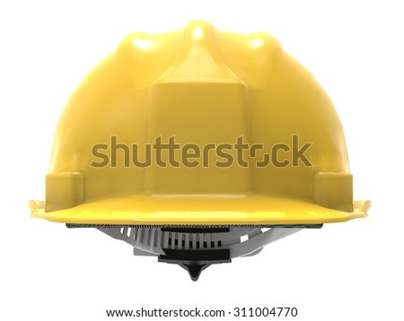 hard hat front view