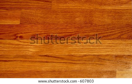 Hardwood flooring background - stock photo