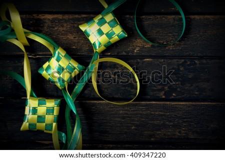 Hari Raya Eid background - stock photo