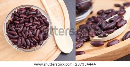 haricot beans - stock photo