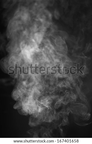 Harmful fumes - stock photo