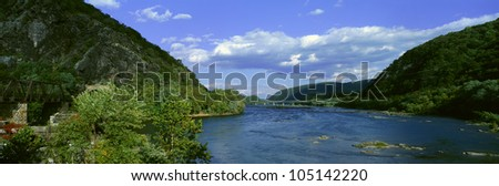 Harpers Ferry, West Virginia - stock photo