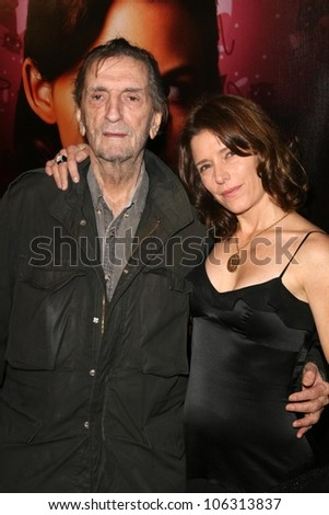 Harry Dean Stanton and Melora Walters  at the 3rd Season Premiere of 'Big Love'. The Cinerama Dome, Hollywood, CA. 01-14-09