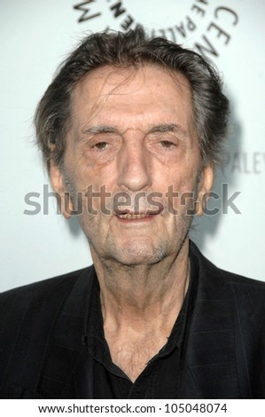Harry Dean Stanton  at 'Big Love' presented by the Twenty-Sixth Annual William S. Paley Television Festival. Arclight Cinerama Dome, Hollywood, CA. 04-22-09