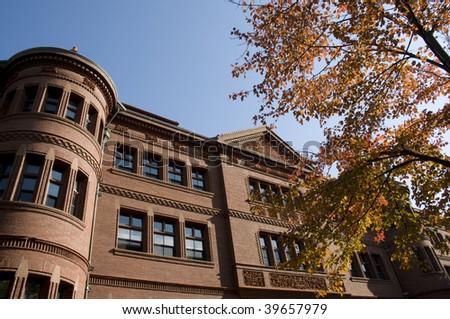 Harvard Architecture - stock photo