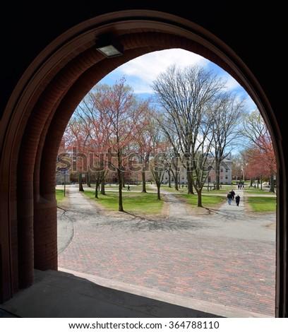 Harvard University Campus - stock photo