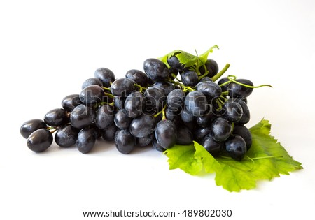 harvest of sweet grapes