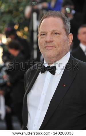 "Harvey Weinstein at the premiere of ""The Immigrant"" at the 66th Festival de Cannes. May 23, 2013  Cannes, France"