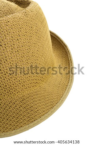 Hat isolated on a white background.