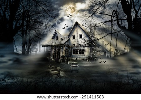 Haunted House Stock Images, Royalty-Free Images & Vectors ...