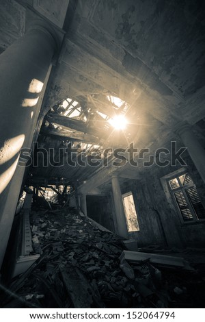 Haunted. Similar images at http://www.shutterstock.com/sets/1044707-haunted-hotel.html?rid=1728748