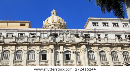 Havana, Cuba architecture - stock photo