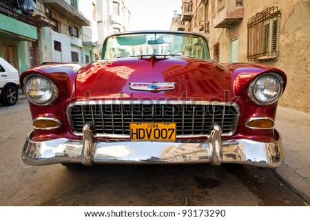 havana january 15classic chevrolet january 152012 in havanabefore a