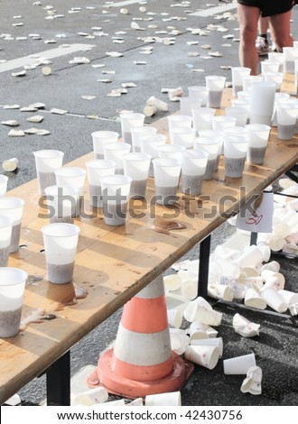 have a drink - stock photo