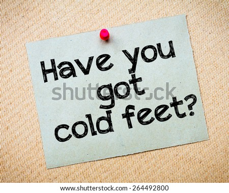 Quot Cold Feet Quot Stock Photos Royalty Free Images Amp Vectors
