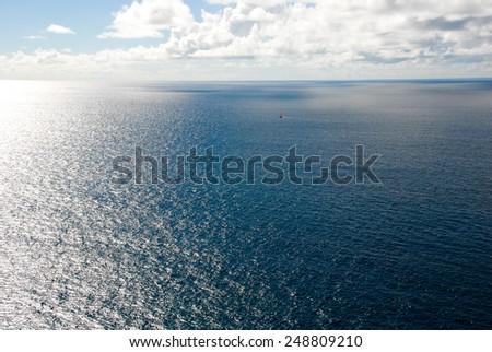 Hawaiian Ocean Vista - stock photo