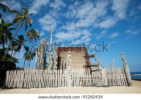 Hawaiian Tikki - stock photo