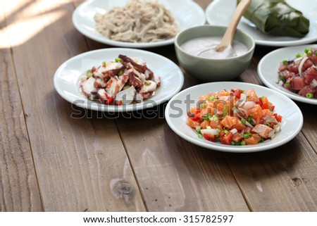 Limu stock photos royalty free images vectors for Authentic hawaiian cuisine
