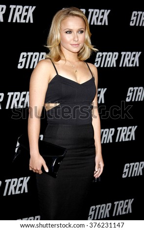 "Hayden Panettiere at the Los Angeles Premiere of ""Star Trek"" held at the Grauman's Chinese Theatre in Hollywood, California, United States on April 30, 2009."