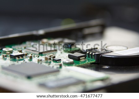HDD Circuit;