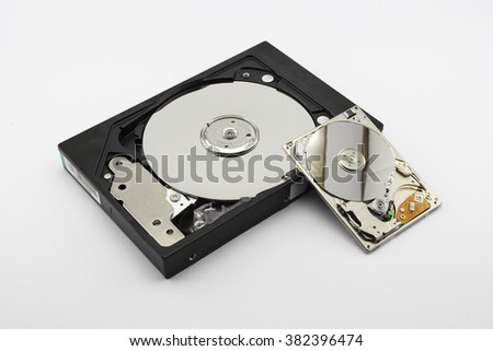Hdd, hard disk drive - components