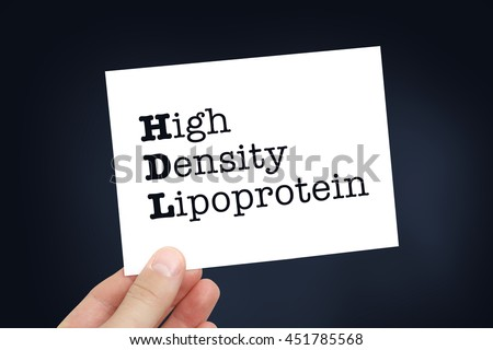 HDL concept - stock photo