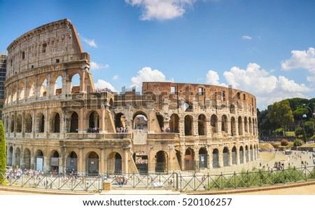 HDR Colosseum - Rome, Italy