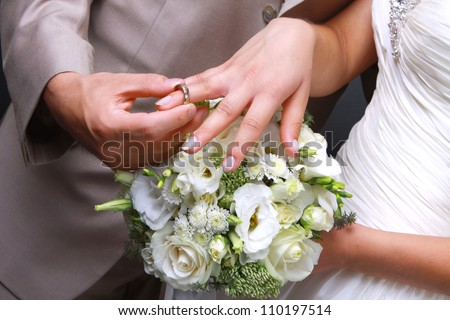 he put the wedding ring on her - The Wedding Ring