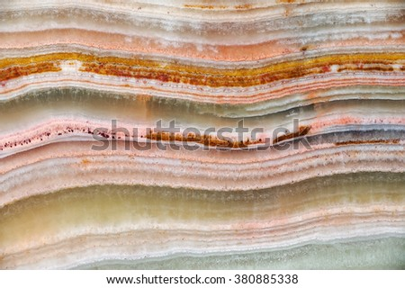 he structure of the variegated onyx / texture of natural stone , onyx, marble  - stock photo