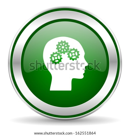 head icon  - stock photo