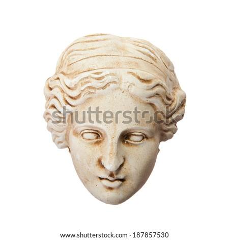 Head of Aphrodite sculpture  - stock photo