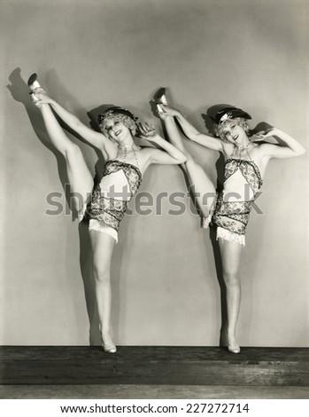 Head over heels - stock photo