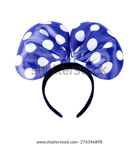headbands isolated on a white background - stock photo