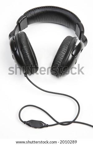 headphones - stock photo
