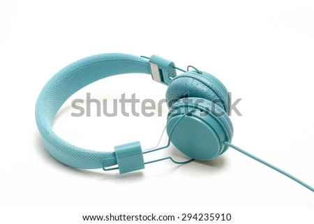 Headphones: Cyan