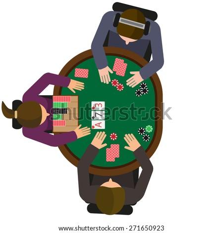 Heads up poker dealer position