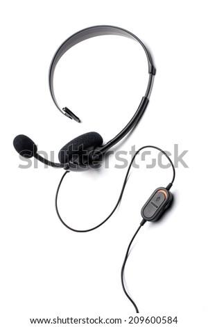 Headset - stock photo