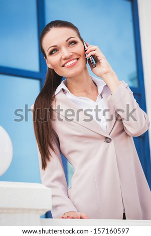 Headset woman customer service worker, call center, smiling operator with headset