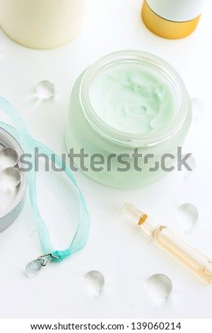 Healing Cosmetics and Delicate Cream
