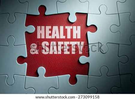 Health and safety - stock photo