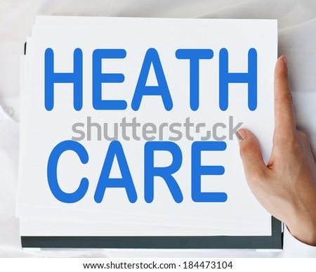 Health Care concept - stock photo